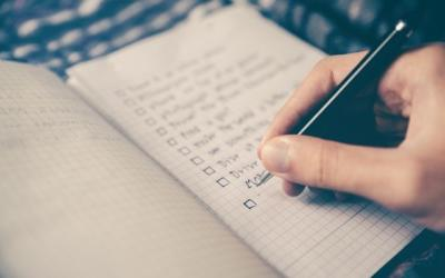 Confessions of a Checklist Junkie